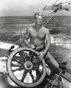 Sterling Hayden On A Boat