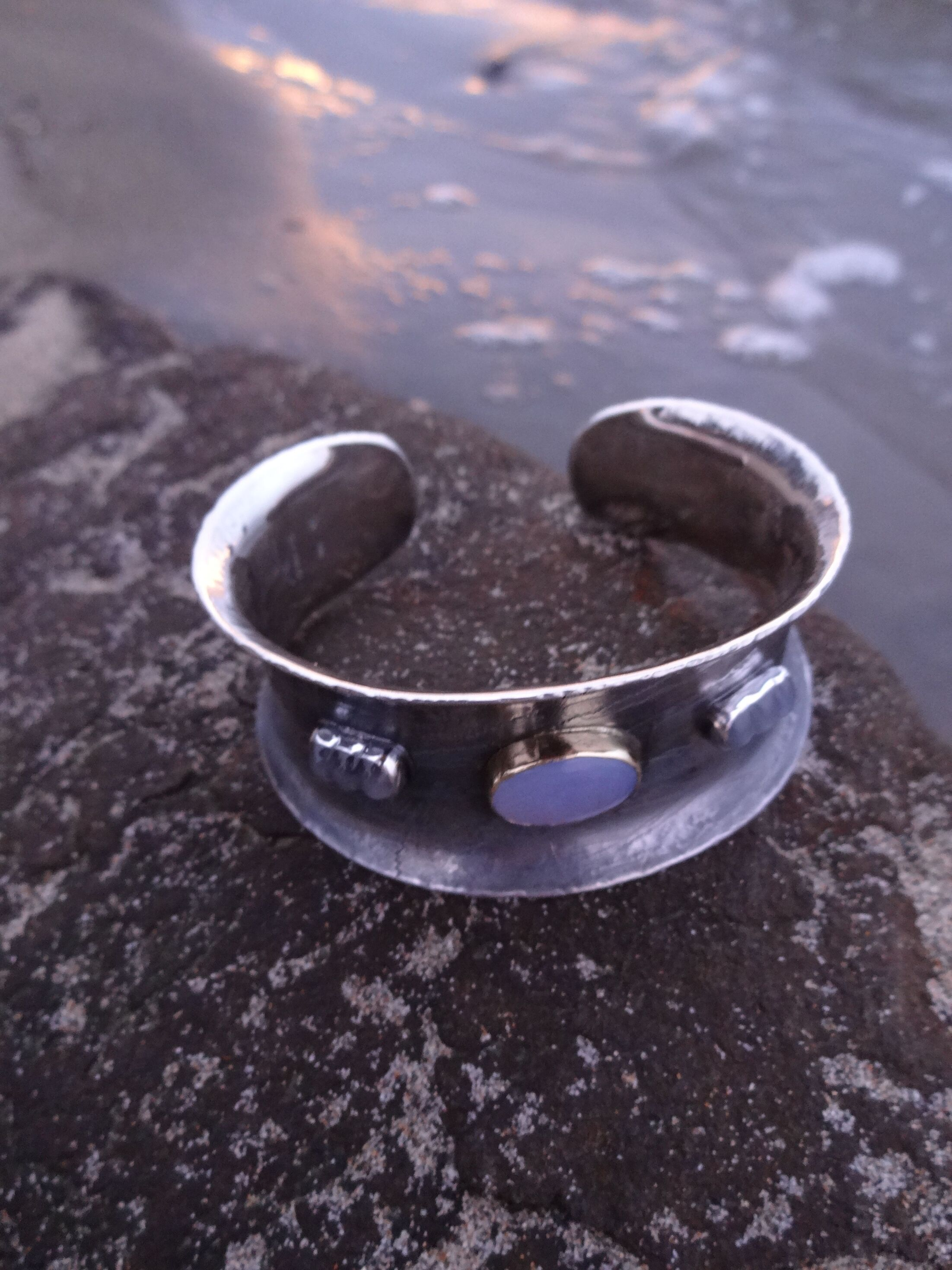 Etched Cuff Bracelets Judith Altruda Jewelry Copper Circuit Board Bracelet Rain 2