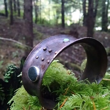 men's copper cuff
